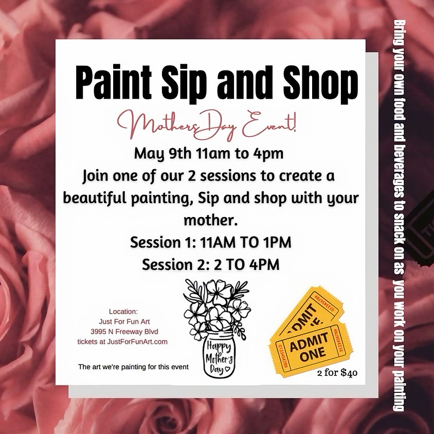 Mothers Day Event- May 9th- 2pm