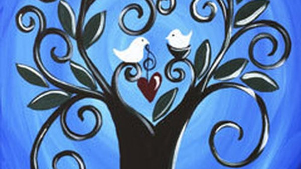 Two B birds