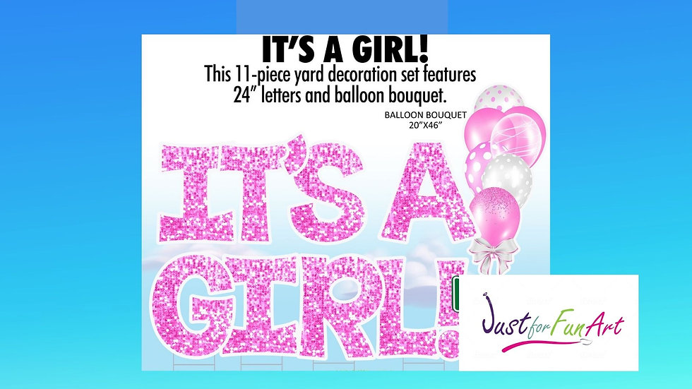 Basic It's A Girl!- There Day Rental