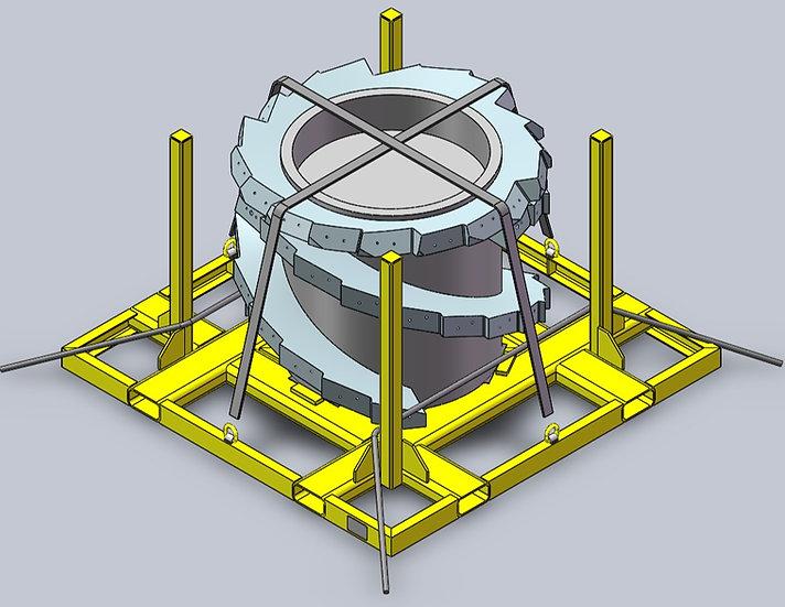 Shearer Drum Transport Frames - 10715.100/1