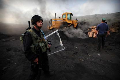 הריסת מתקן לייצור פחם