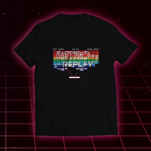 'Breakout' Retro Replay Adult Tee