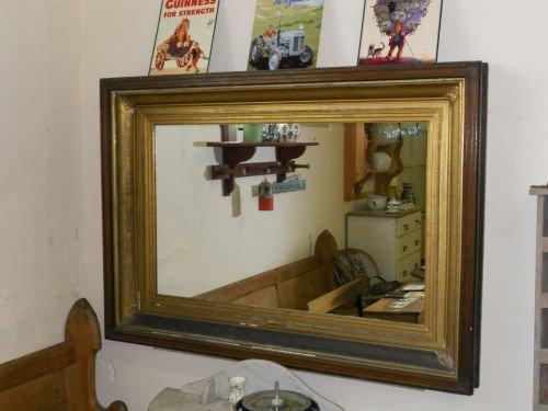 Gilt Picture Frame Antique Mirror