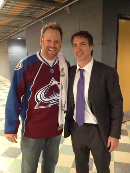 All Smiles with Joe Sakic