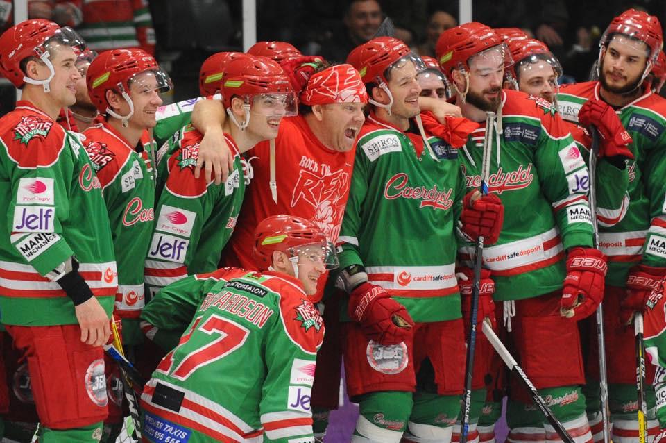Team Photo in Cardiff