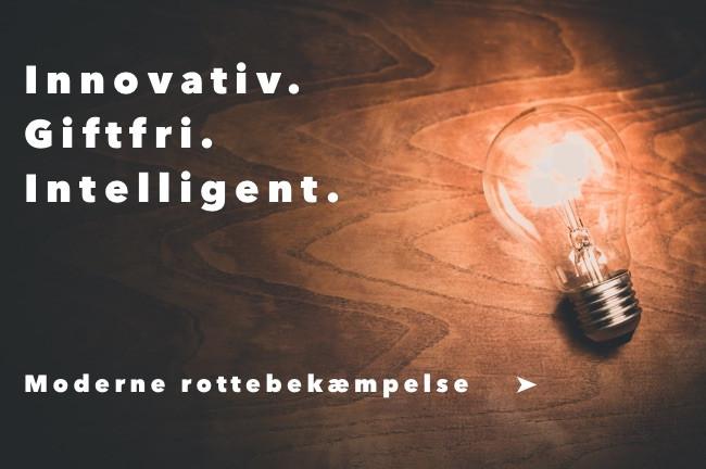 Moderne rottebekæmpelse: innovativ, giftfri og intelligent
