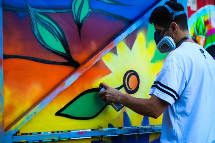 Artiste graffeur