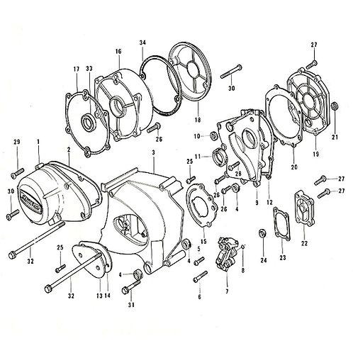 Kawasaki 900 Z1 Screw Kits