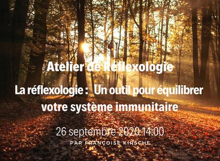 Atelier de Réflexologie : comment équilibrer son système immunitaire