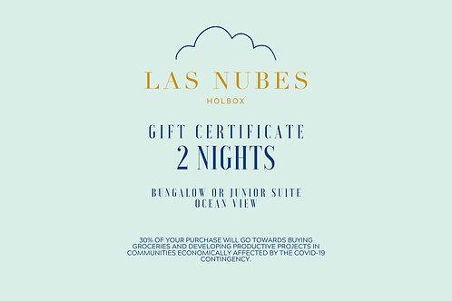 Gift Certificate for 2 nights - Ocean View Room