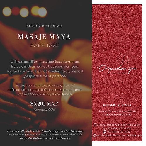 Masaje Maya para dos