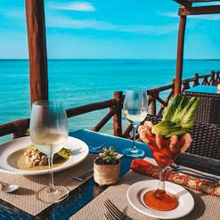 Restaurante El Sabor de Las Nubes de Holbox