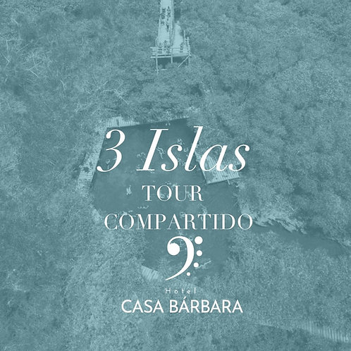 Tres Islas - Tour Compartido CB