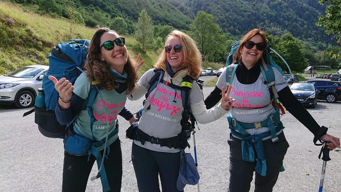 ASCENSION 1.0 = 4 Jours = 4 femmes Lac d'Ôo / Espingo / Portillon / Lac glacé / Pic Spijeoles