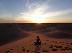 Trek et Yoga dans le désert, au Maroc