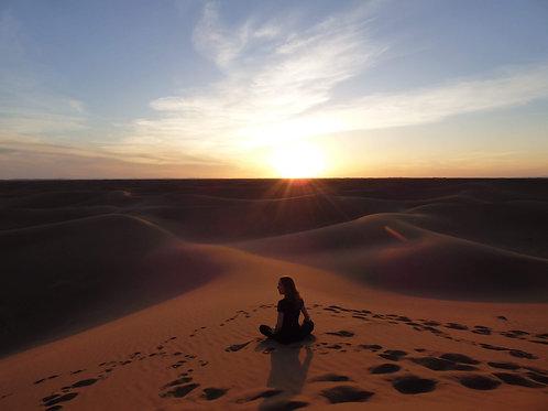 Acompte Trek&Yoga Sahara