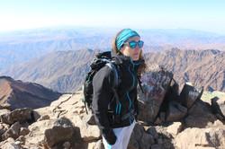 Gravir un sommet, le toubkal au Maroc