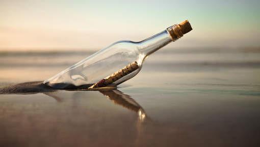 Une bouteille à la mer... et une antenne sur Toulouse