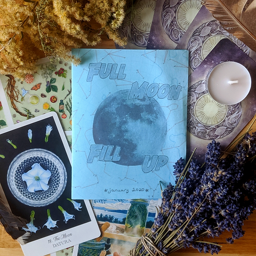 Full Moon zine gift subscription