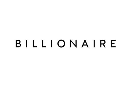 Billionaire | The Future of Luxury Travel