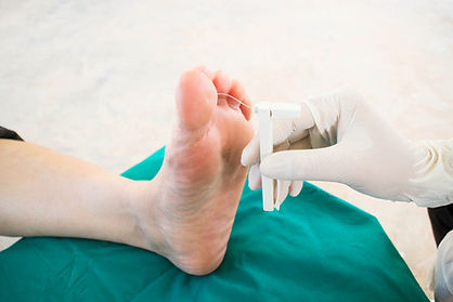 neurovascular assessment by Oxford Chiropody