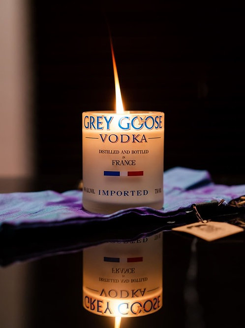 sustainable grey goose candle