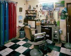 barbero del pueblo srodek