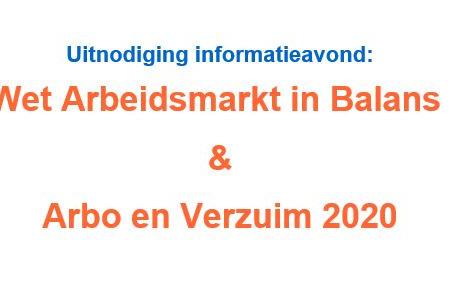 INFORMATIEAVOND WAB & ARBO EN VERZUIM 2020