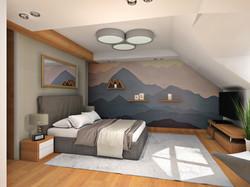 sypialnia II wersja