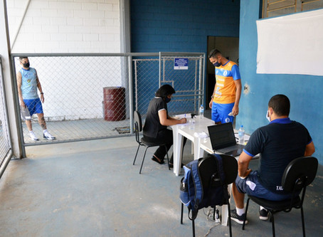 Taubaté Futsal realiza testes para COVID-19 no elenco
