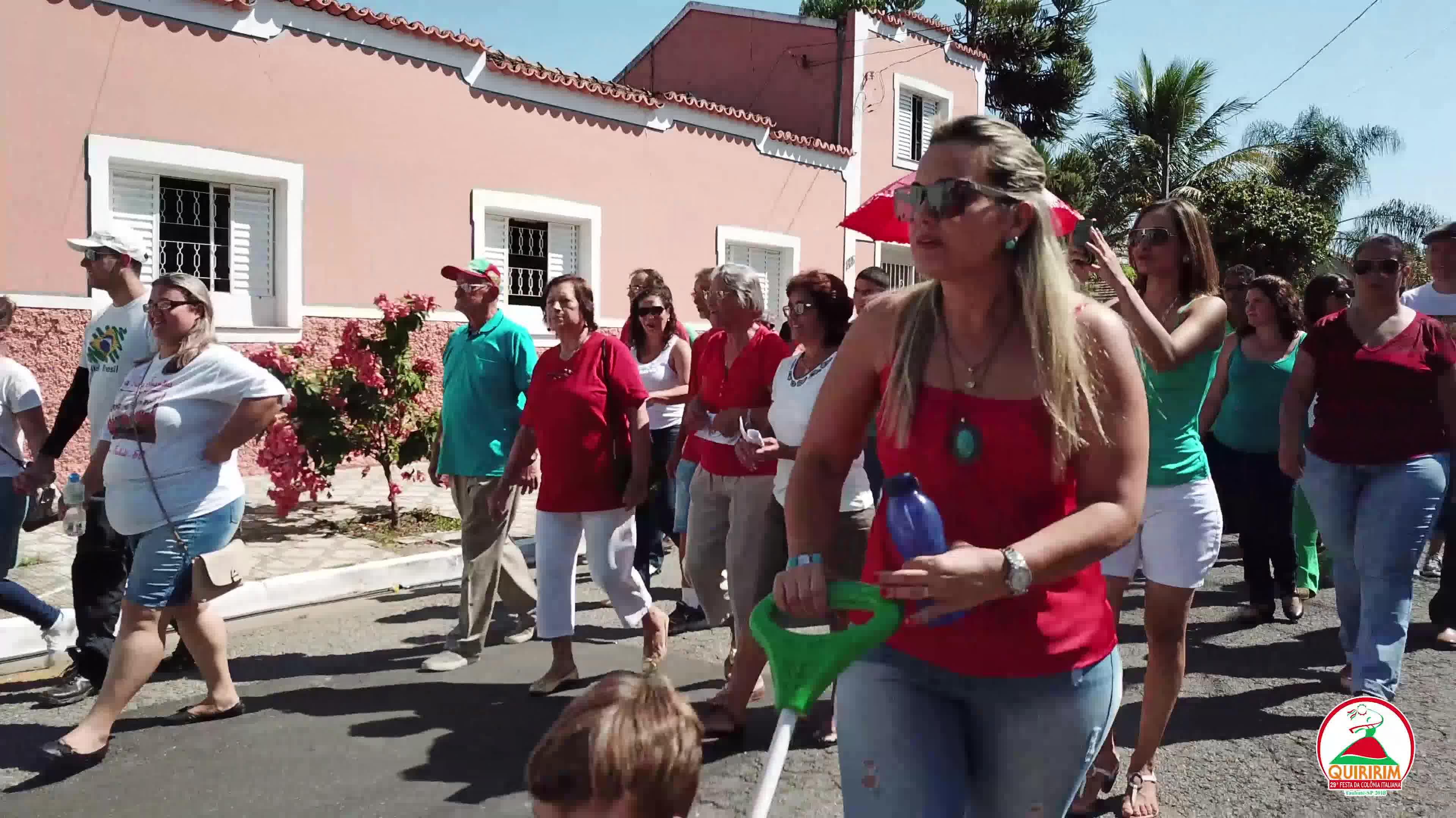 Tradicional Desfile da Imigração Italiana de Quiririm.