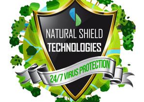Natural Shield Technology logo design