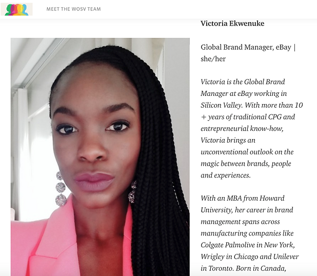 Women of Silicon Valley Feature - Victor