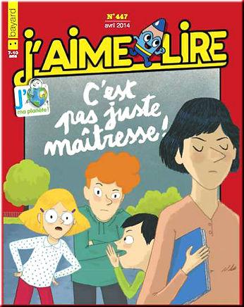 Nathalie Stragier J'aime Lire