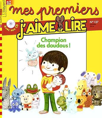 J'aime Lire Champion des doudous