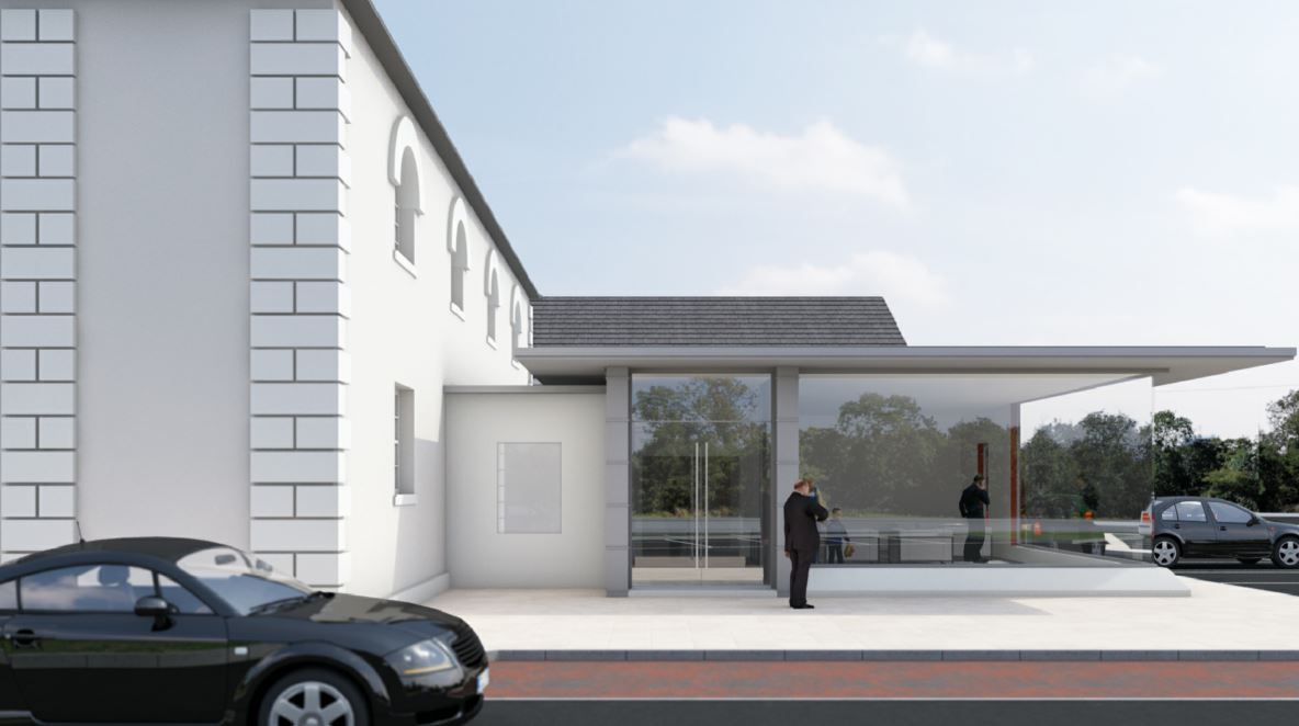 Ballygrainey Church, OMNI Architects