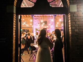 Nadine & Liam's Groovy Winter Wedding