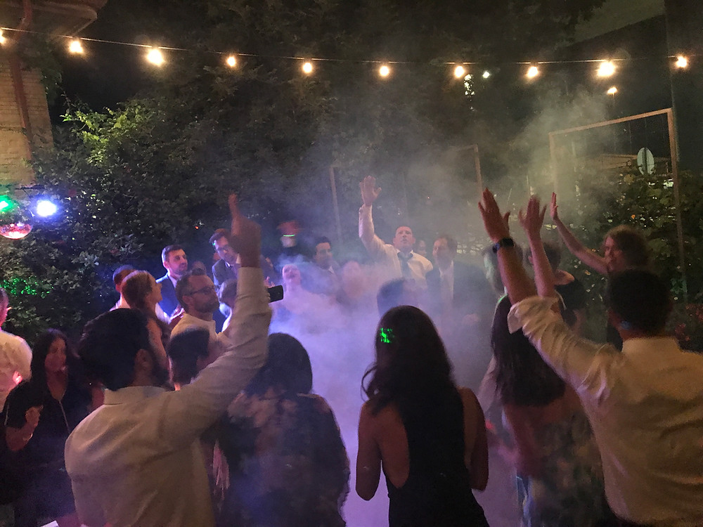 Dancing, Christina & Eddie's Wedding, Corson Building