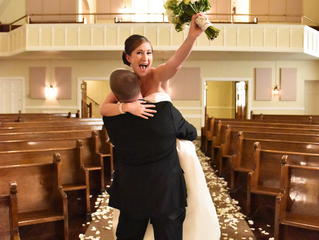 Real Weddings: Nova and Dan's Supremely Cool July Wedding at Events On 6th!
