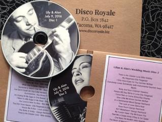 The Memory of A Lifetime: Your Souvenir Wedding CD