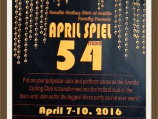 Disco Royale 'Rocks' Granite Curling Club!