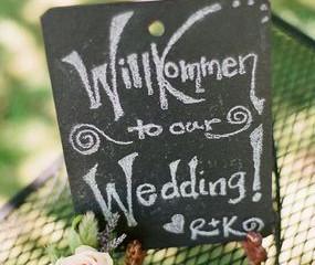 Farm Kitchen Wedding featured on Borrowed & Blue