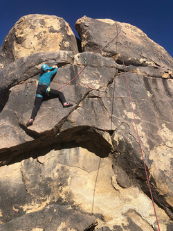 Climbing at Fairview Mountain