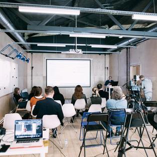 Трансляция для Санкт-Петербургского Кластера Чистых технологий для городской среды