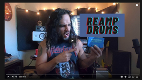 How to reamp drums