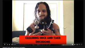 Cleaning mics