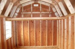 Inside view, Barn w/ Loft
