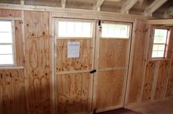 Inside View Double Doors