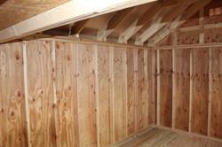 Inside, Under loft