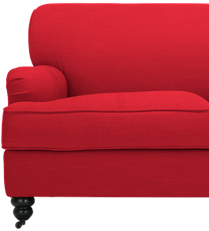 Red Couch Transparent Background.png